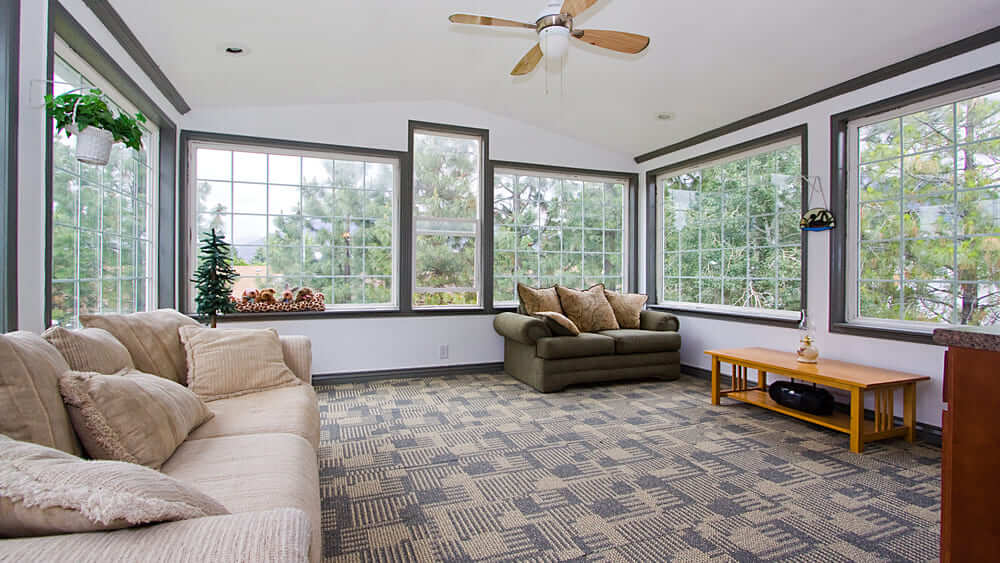 Carpeting for Your Sunroom