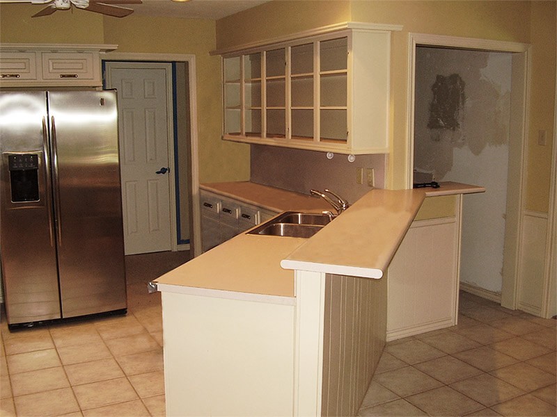 Kitchen remodel before renovation