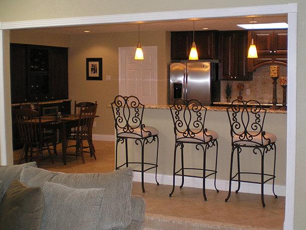 Kitchen Remodel with granite countertops