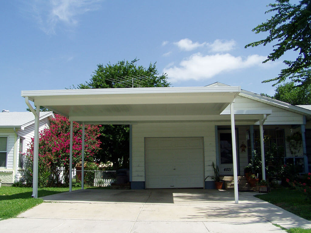 Dallas carport build